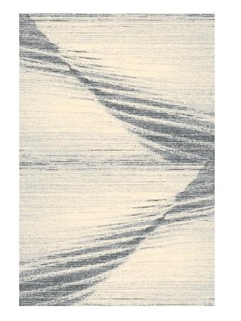 Black Red White MOE kusový koberec 133x180, šedý, obdélník