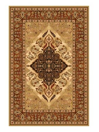LEYLA kusový koberec 200x300, jantar, obdélník