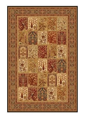 TIMOR kusový koberec 200x300, černý, obdélník