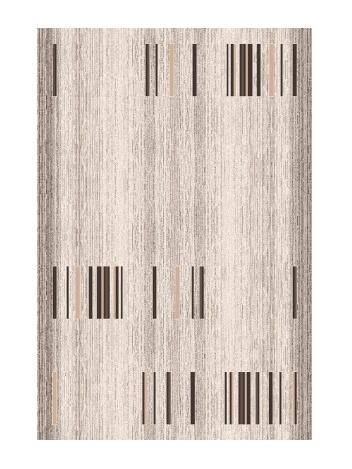 Black Red White BLURAL kusový koberec, imbir, obdélník