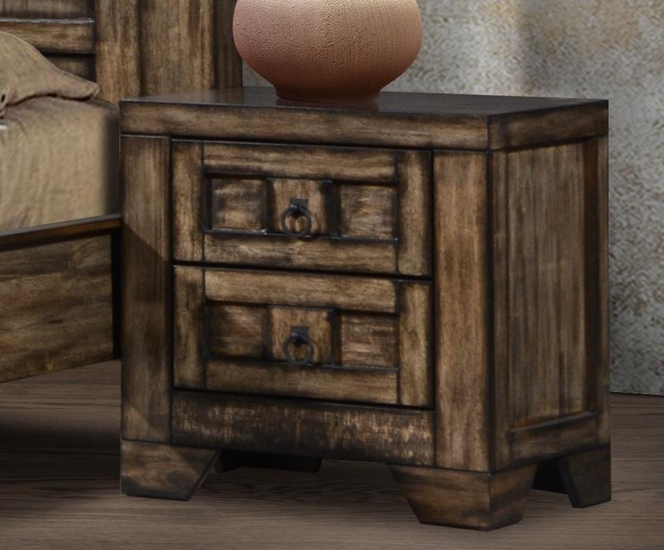 Noční stolek CARTAGENA, masiv