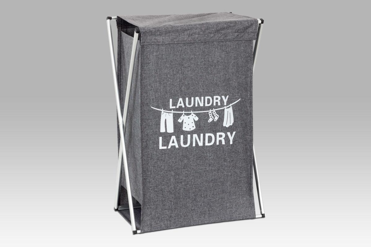 Smartshop Koš na prádlo plátěný DD3106, šedá