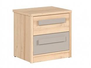 NAMEK noční stolek KOM2S, buk iconic/šedá