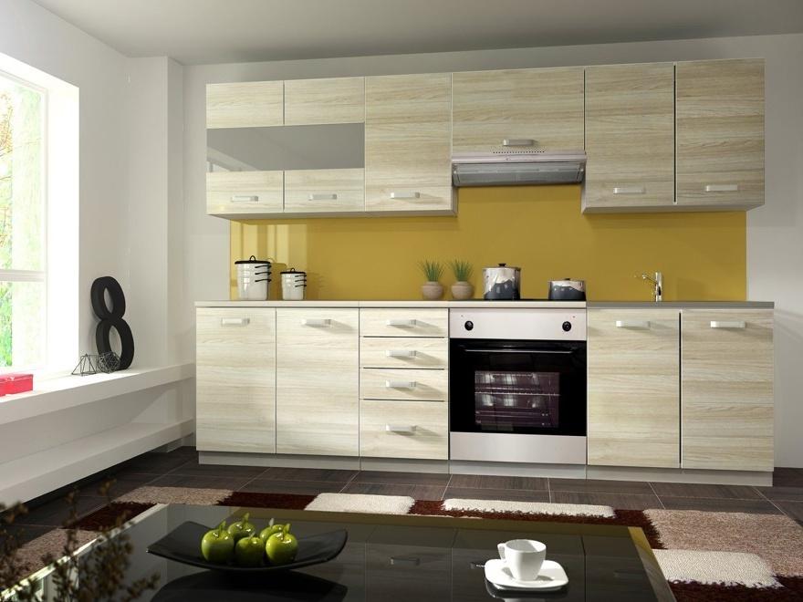Kuchyně EKO AKACJA 200/260, šedá/ akácie