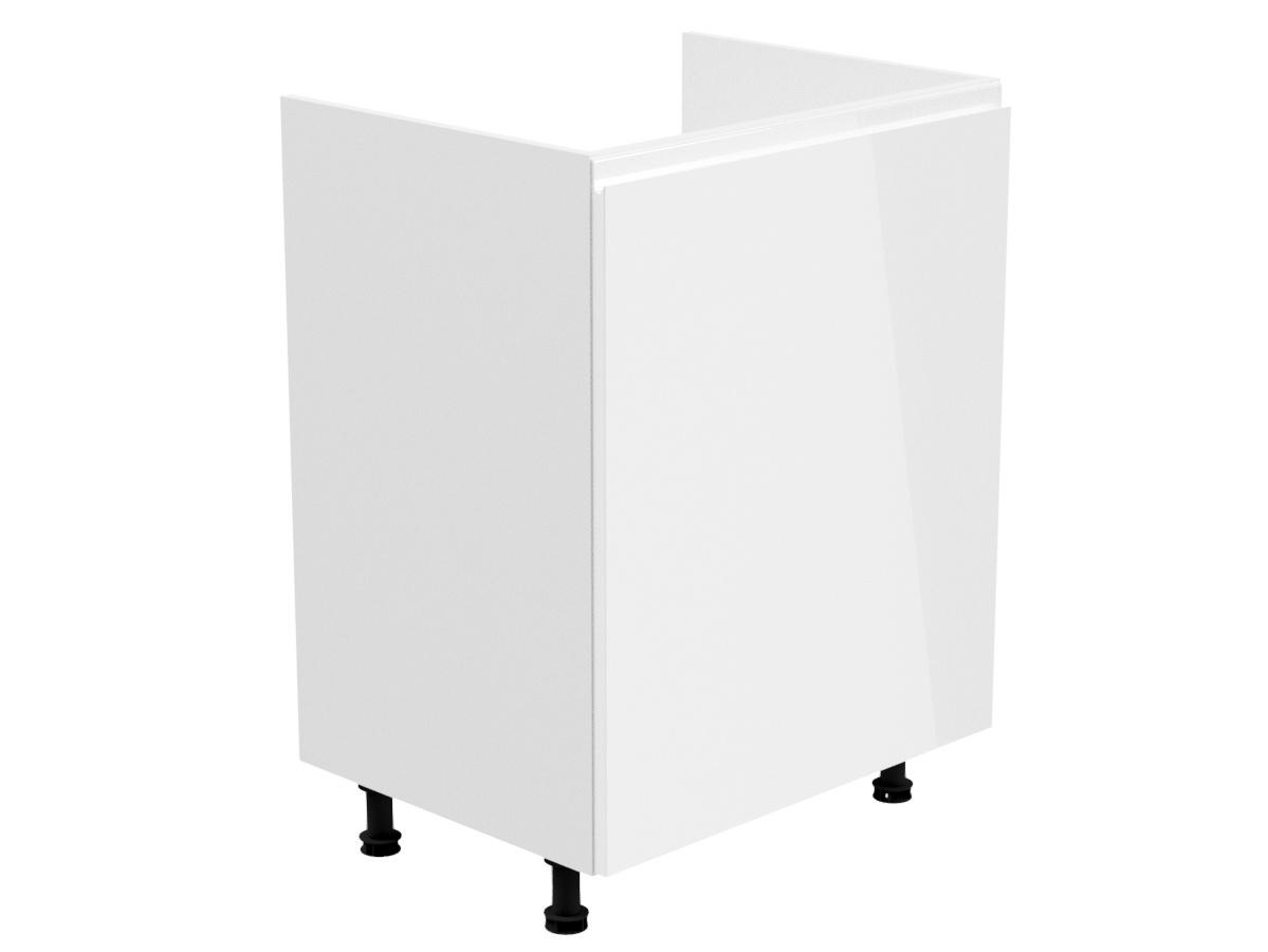 GLADYS, skříňka dolní na dřez D60Z-L levá, bílá