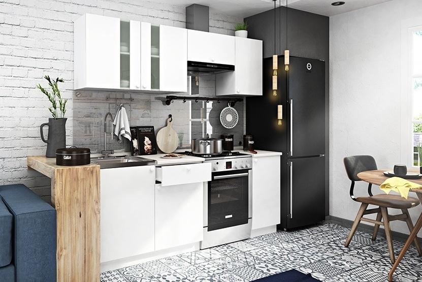 Kuchyně EKO II, 200 cm bílá