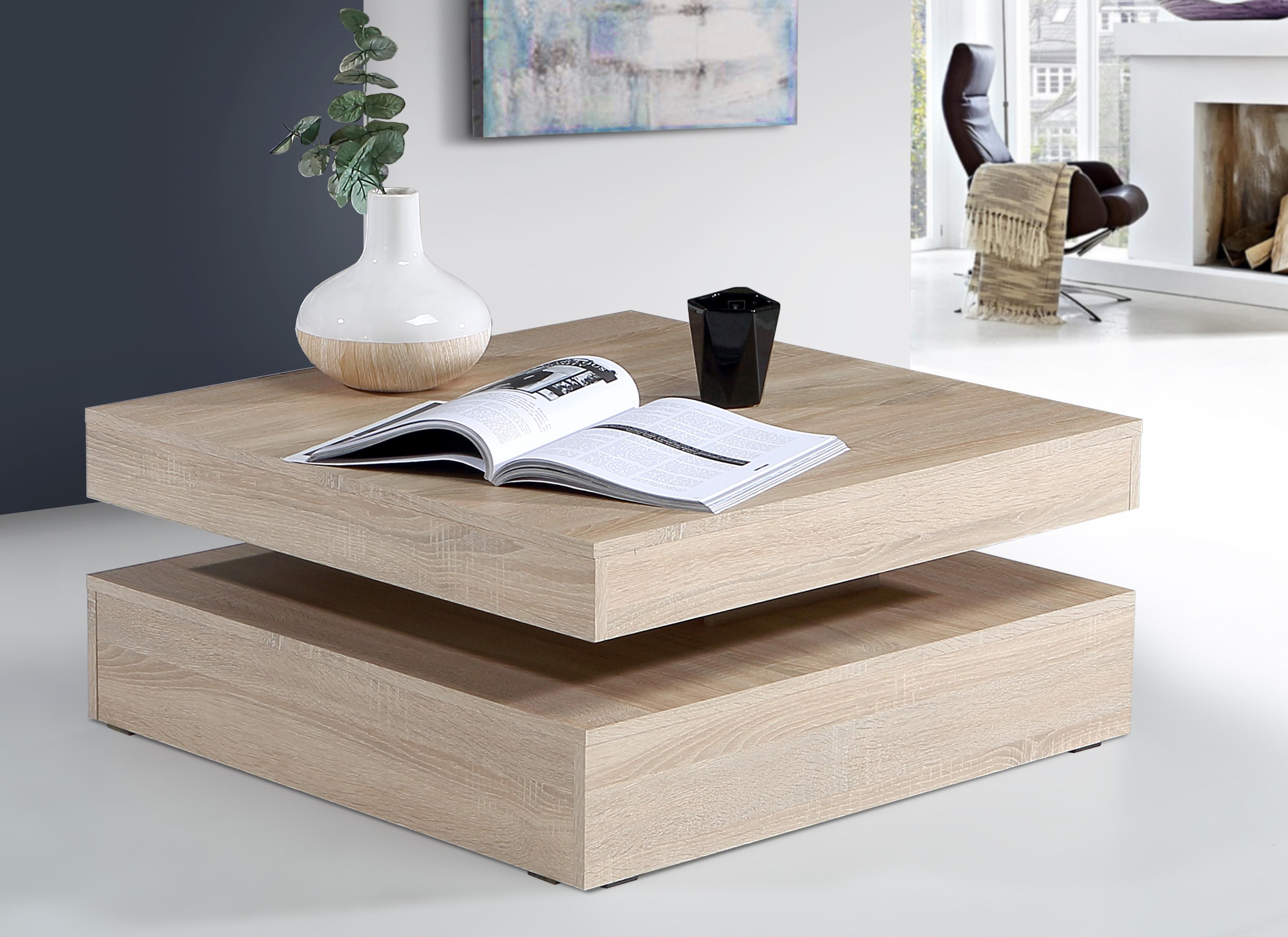 Konferenční stolek ANAKIN, dub sonoma, 5 let záruka