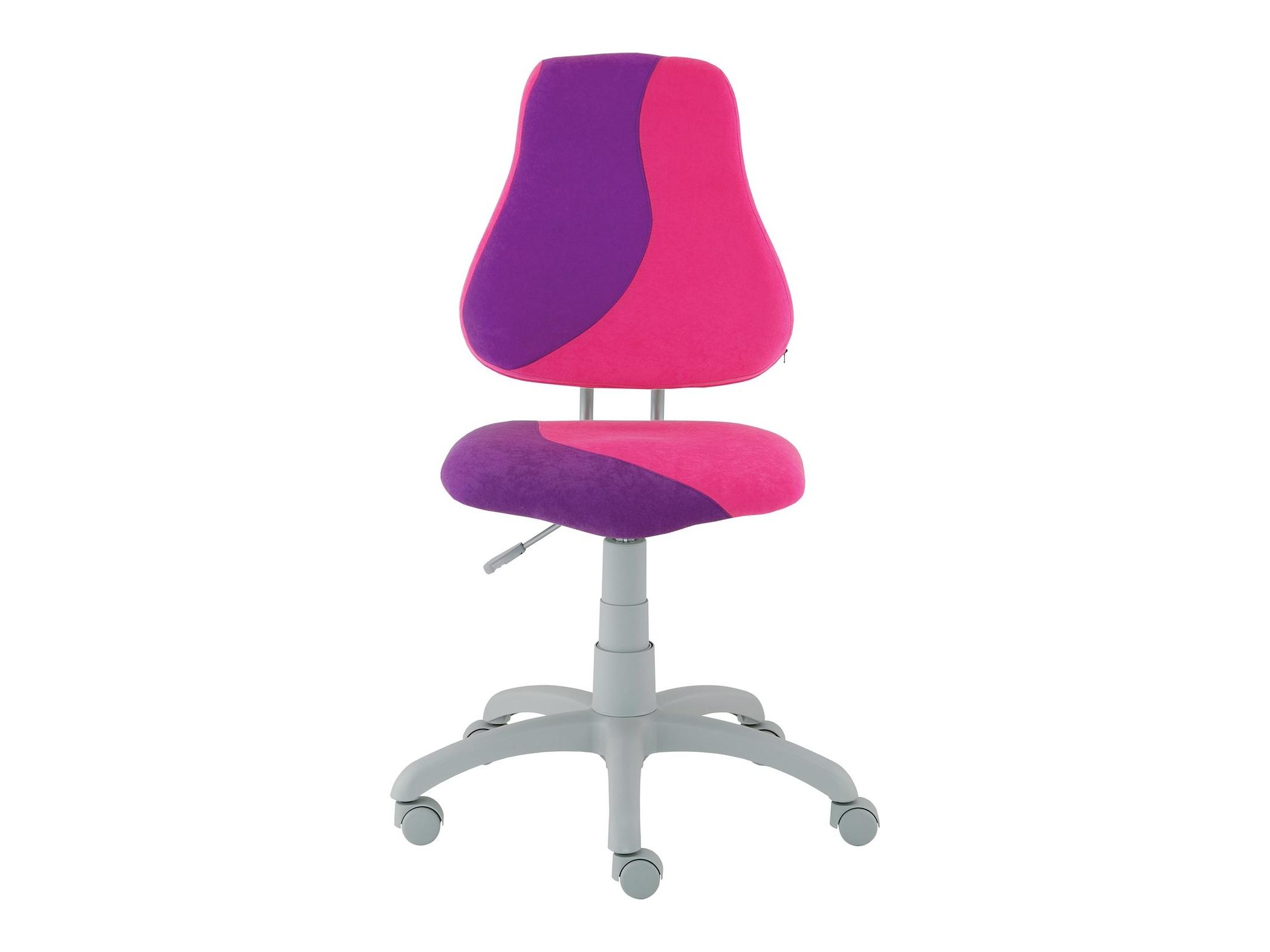 Dětská židle FUXO S, růžová/fialová