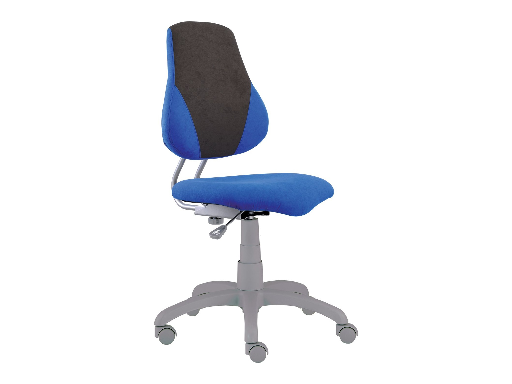 Dětská židle FUXO V, modrá/šedá