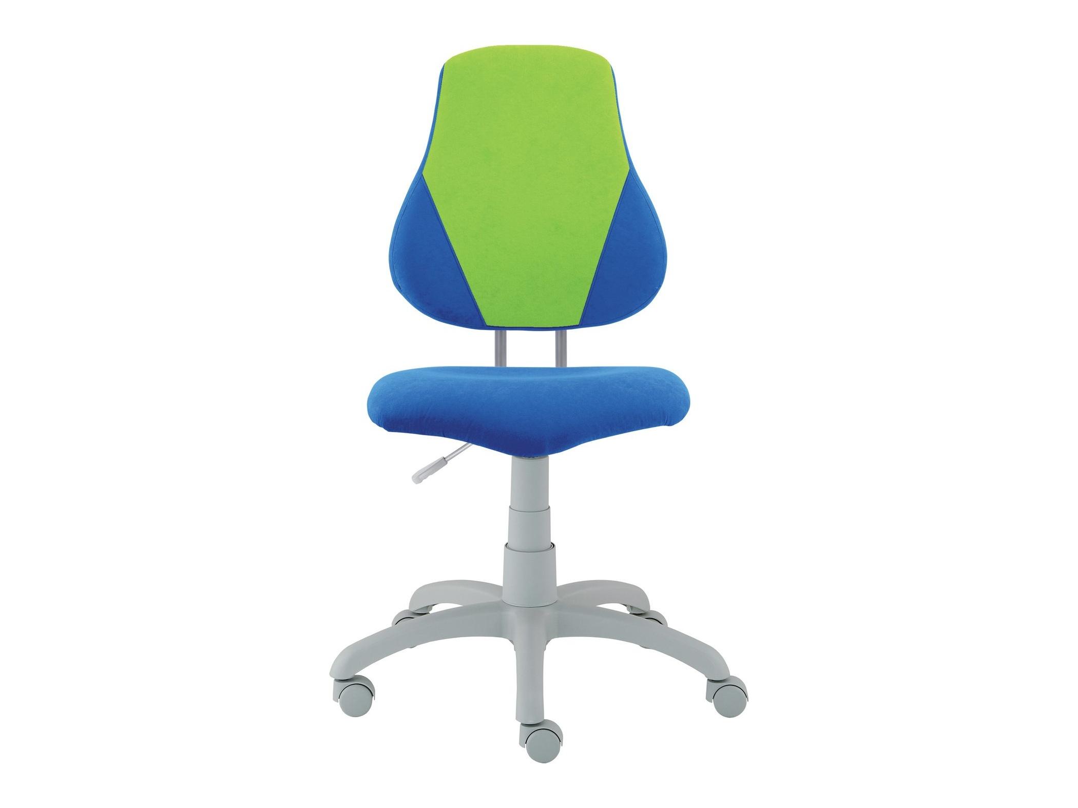 Dětská židle FUXO V, modrá/zelená