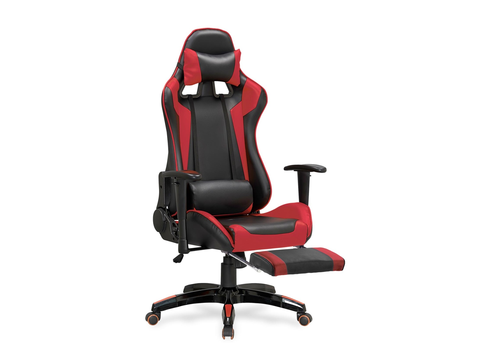 Kancelářské křeslo DEFENDER-2, černo-červená