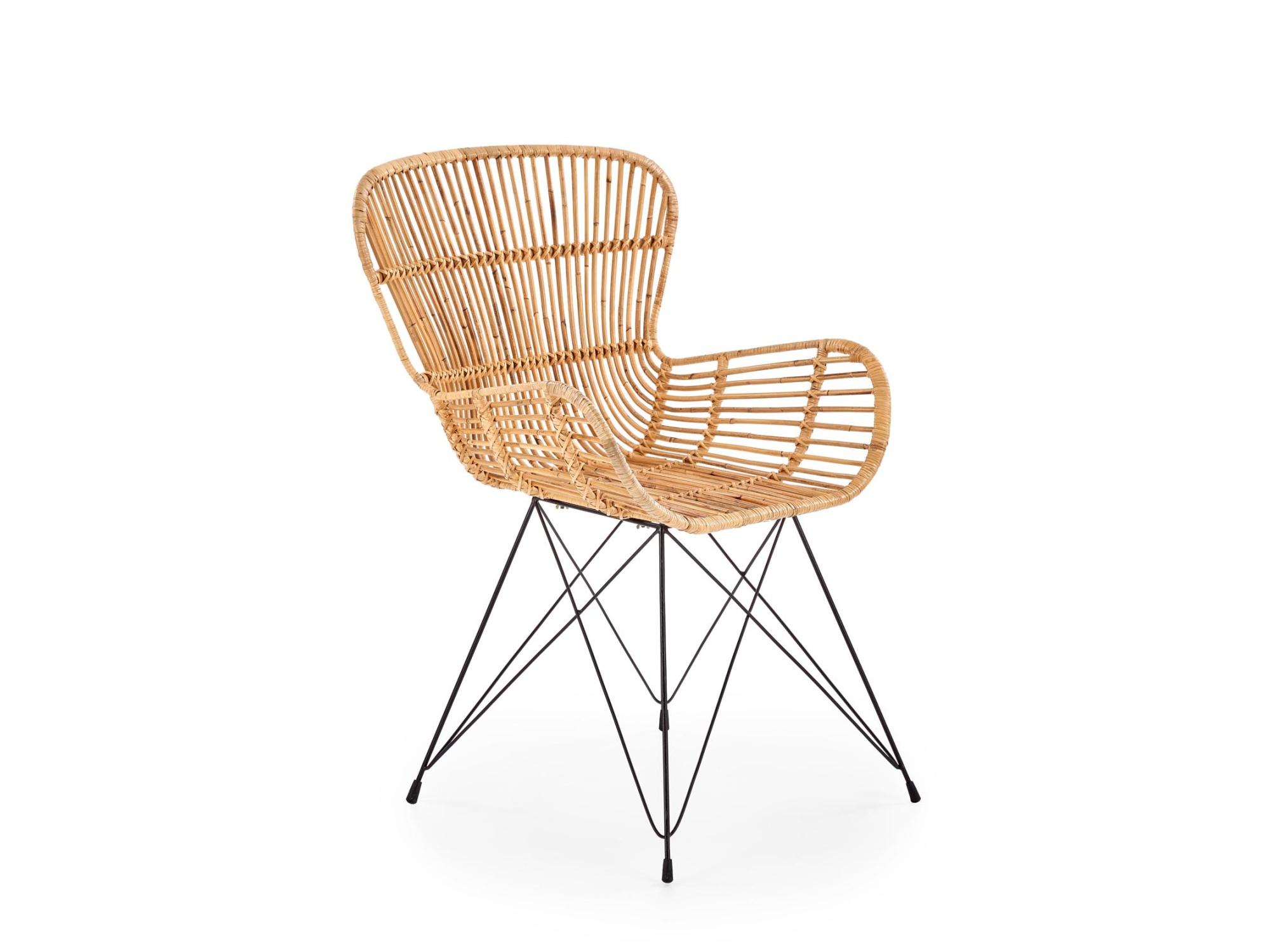 Levně Ratanová jídelní židle K-335, přírodní