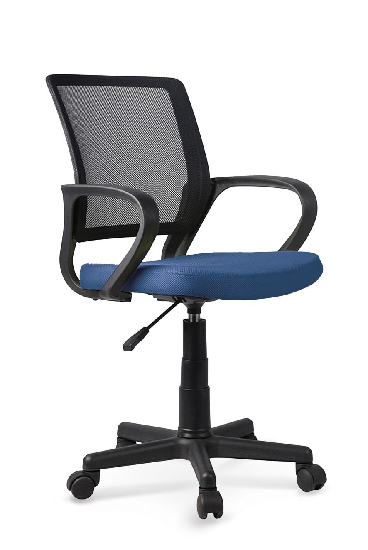 Dětská kancelářská židle JOEL, modro-černá