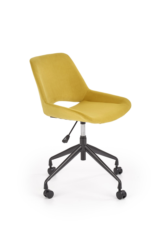 Dětská kancelářská židle SCORPIO, hořčicová