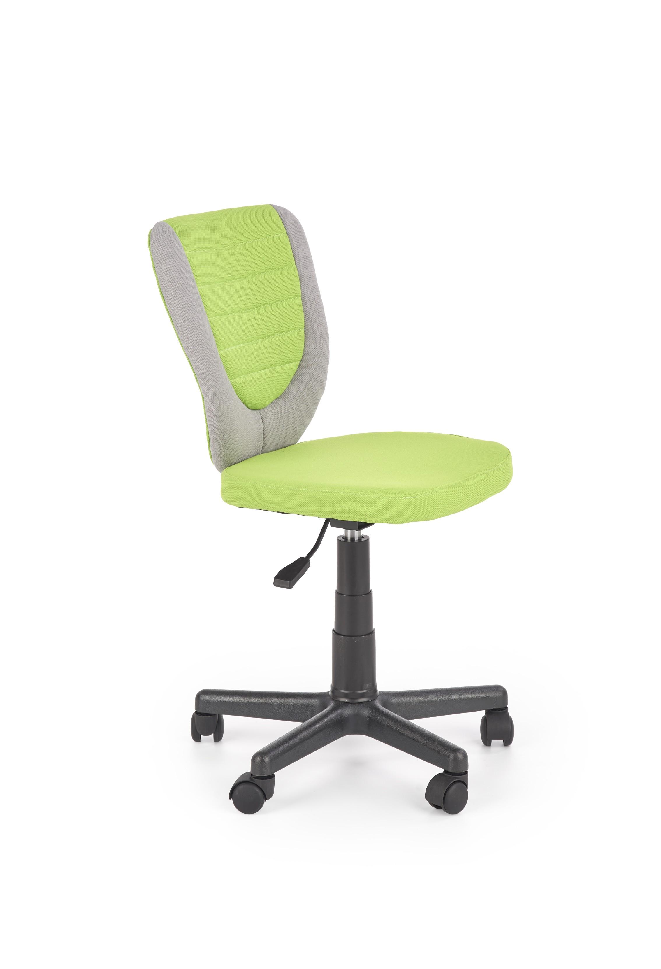 Dětská kancelářská židle TOBY, šedo-zelená
