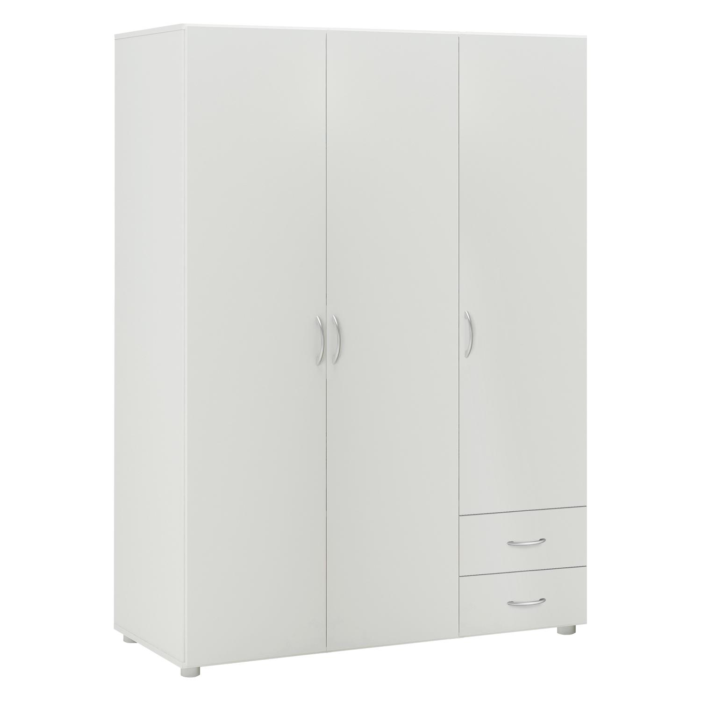 Kombinovaná skříň GEBROULAZ 3D, bílá