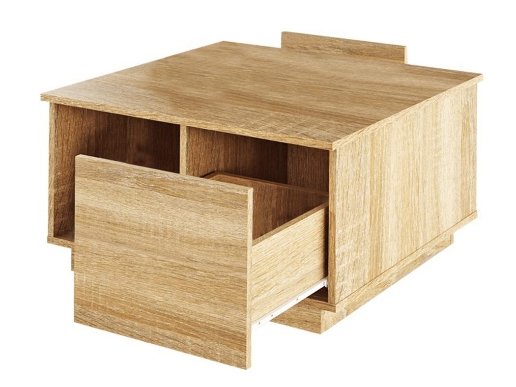 Konferenční stolek HREJK, dub sonoma