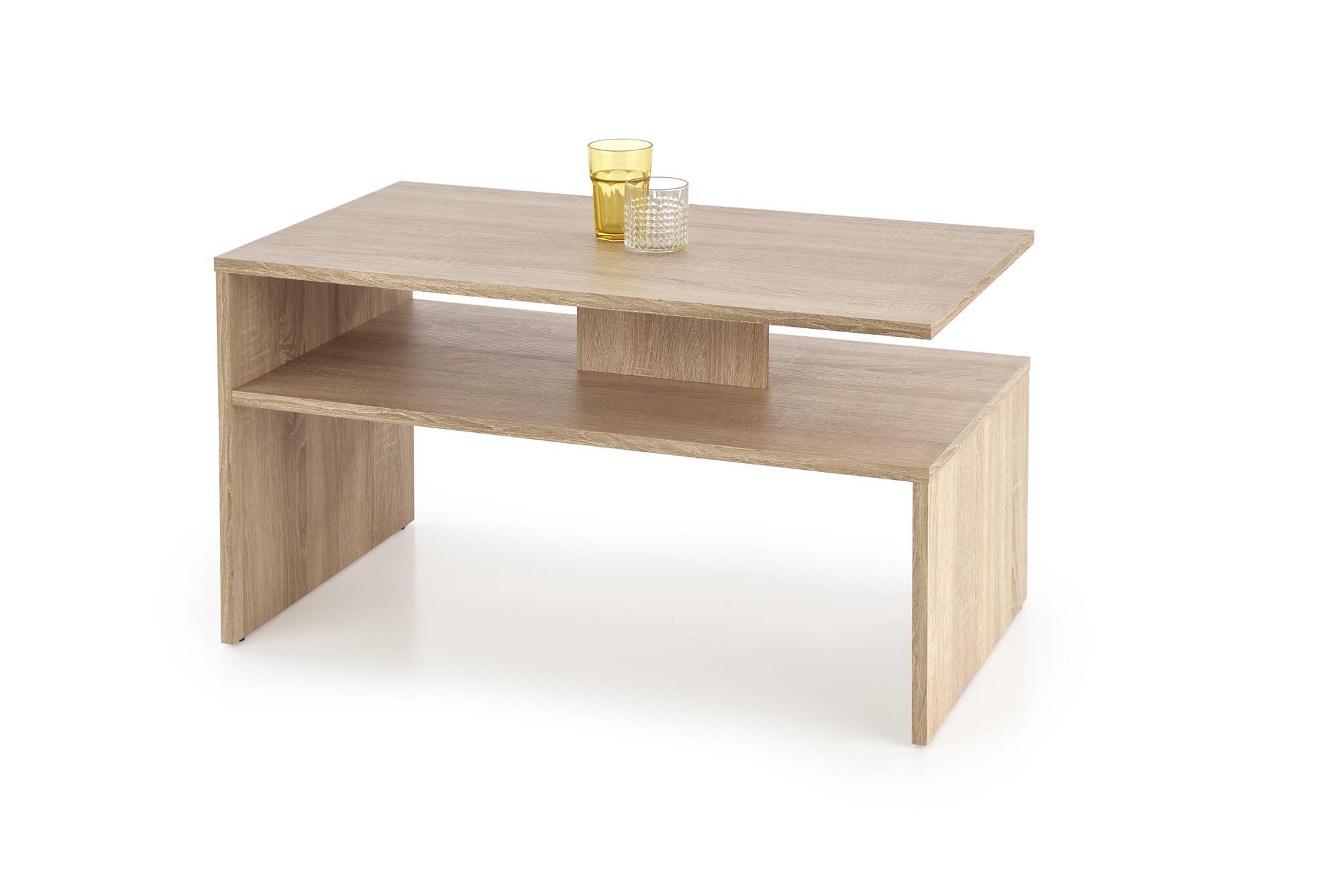 Konferenční stolek SYGMA, dub sonoma